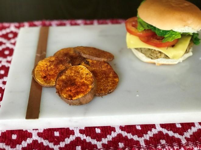 lentil chickpea burger 2