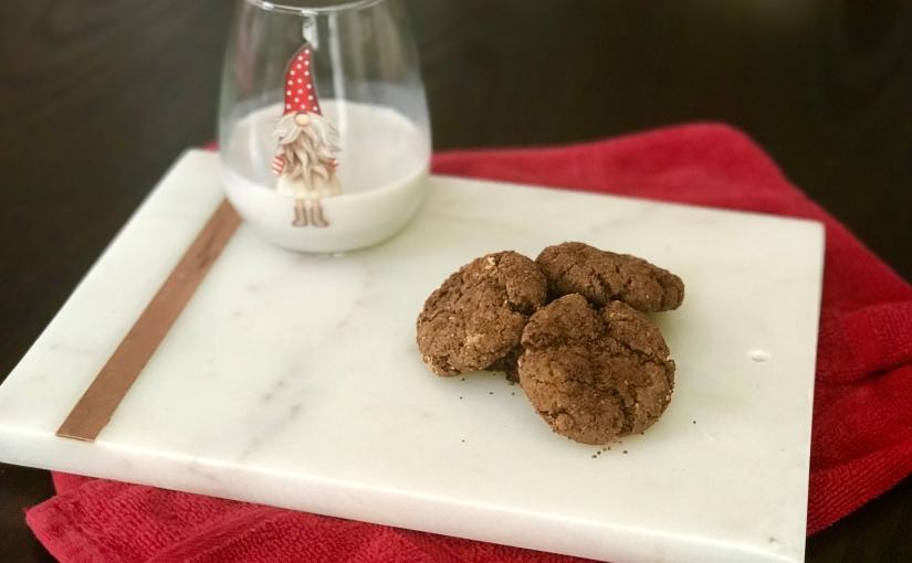 Ginger Molasses Cookies(Vegan)